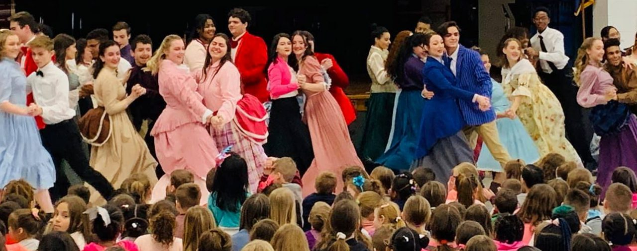 Elementary Tour of The Music Man: Dance Performance