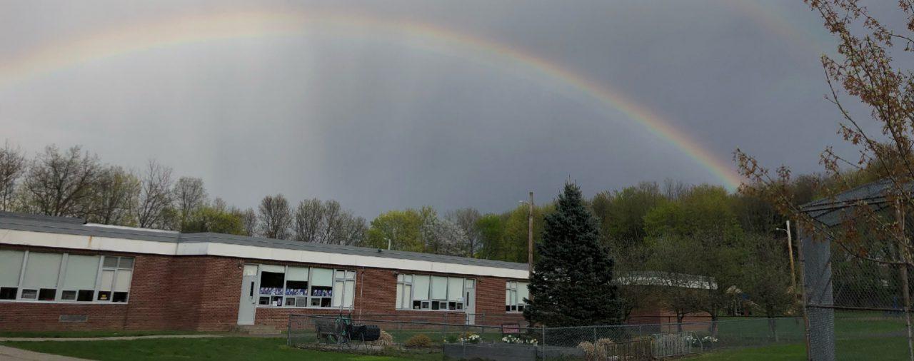 Rainbow Above Montgomery Elementary