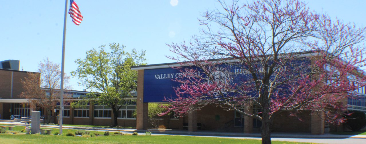 The front of Valley Central High School